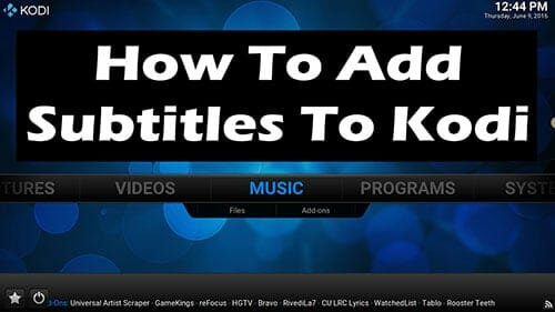 How to add subtitles to kodi with opensubtitles ccuart Choice Image