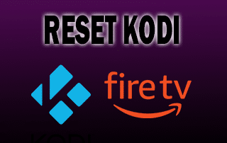 reset kodi on fire tv