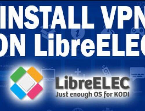 how to set up vpn on libreelec