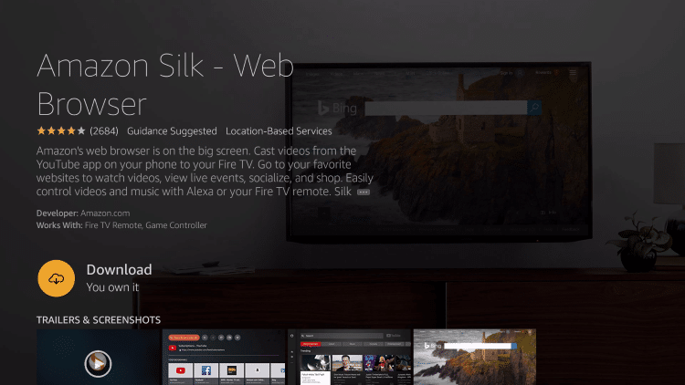 How To Install Browser On Fire TV Or Stick