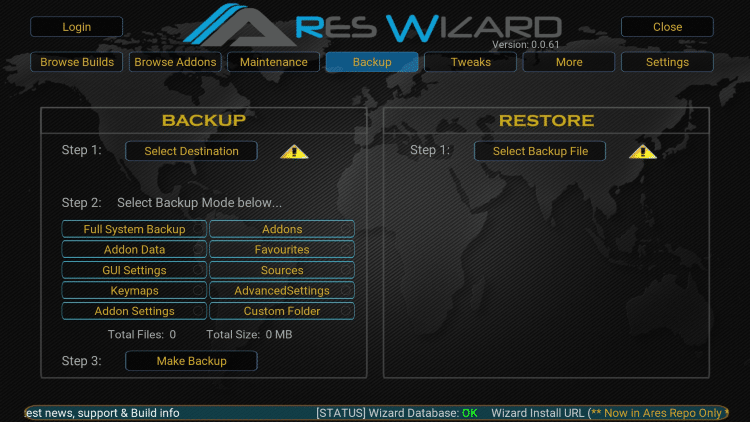 Image result for Ares Wizard setting on kodi