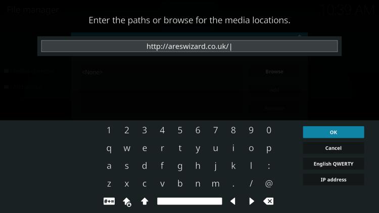 http://areswizard.co.uk/ and click ok