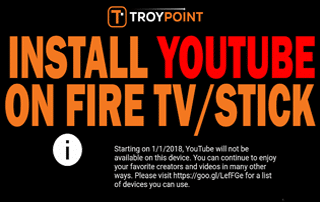 Install YouTube On Fire TV Or Fire TV Stick