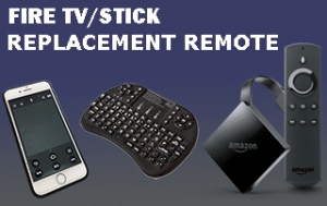 fire tv replacement remote