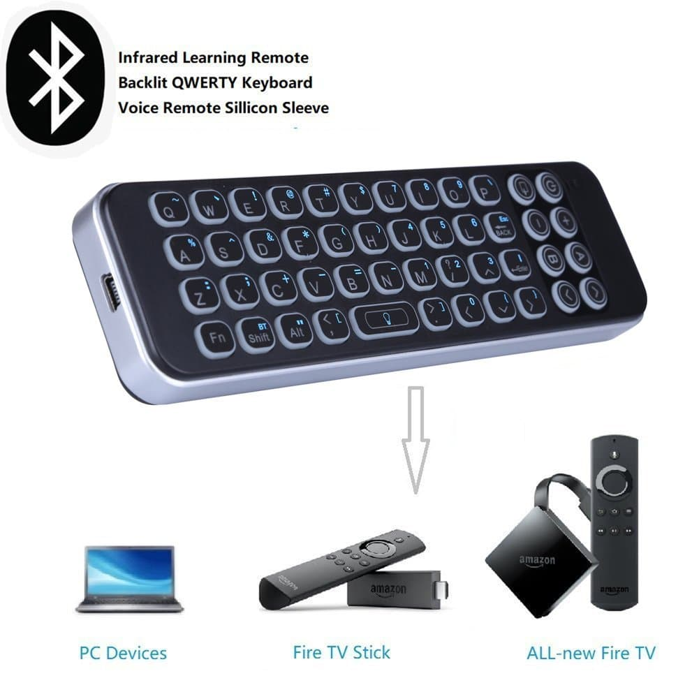 Best Fire Tv Firestick Keyboard Attaches To Remote Control