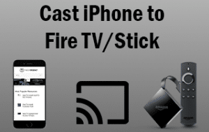 How to mirror or cast iphone to fire tv stick with step for Mirror iphone to tv