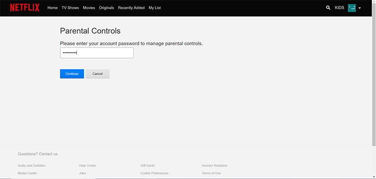 How To Set Parental Controls On Netflix With A Pin