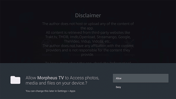 How To Install Morpheus TV On Firestick/Fire TV, & Android Box