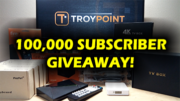 TROYPOINT 100,000 Subscriber Giveaway