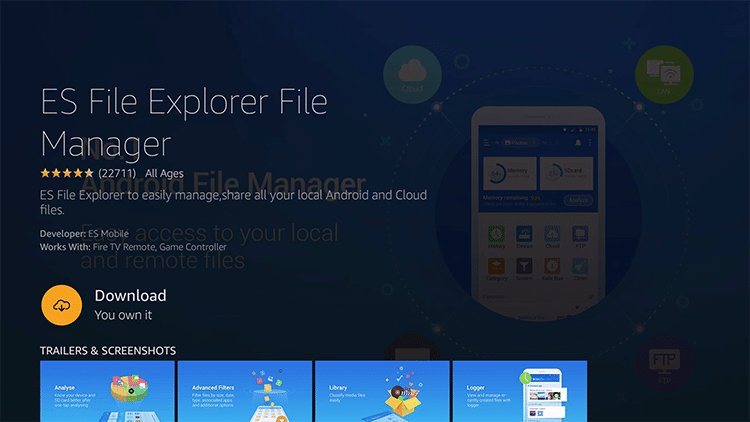 How To Install and Use ES File Explorer on Firestick/Fire TV