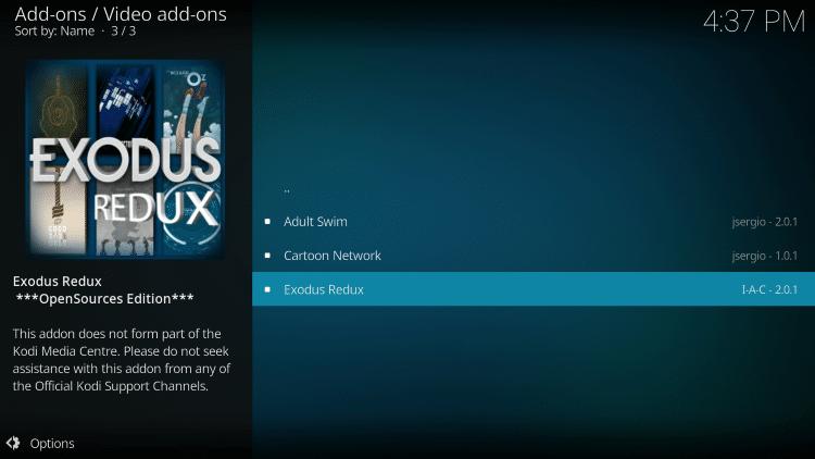 Click Exodus Redux