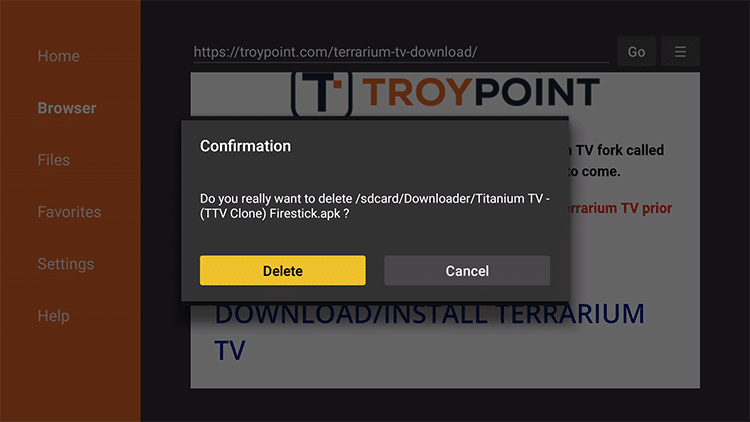 titanium tv apk for android