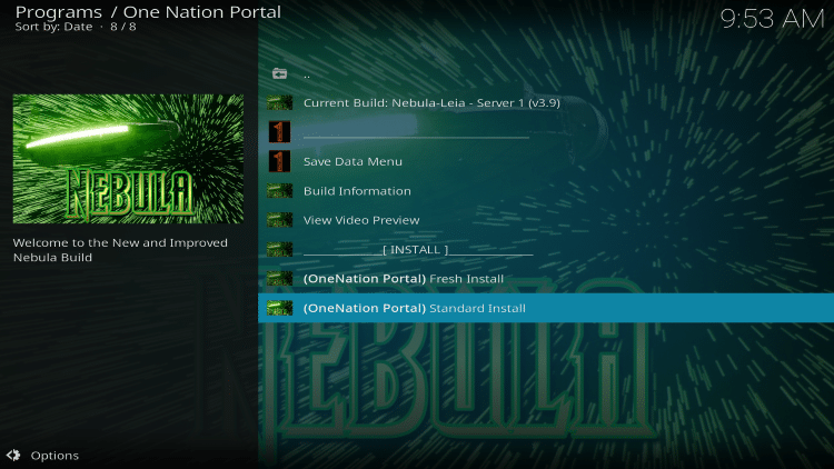 How To Install One Nation Kodi Build