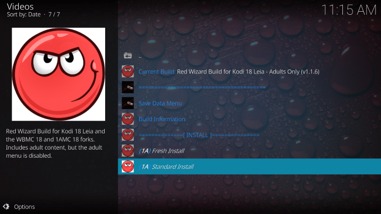 How To Install Red Wizard Kodi Build