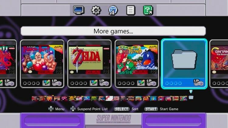 more games folder