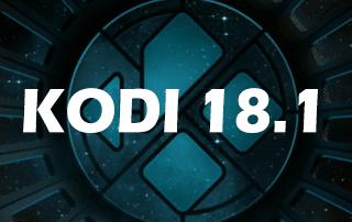 Kodi 18.1