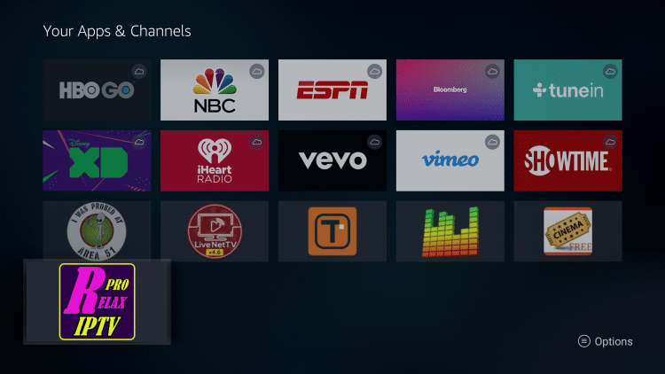 How To Install Relax TV APK on Firestick/Fire TV/Android Box