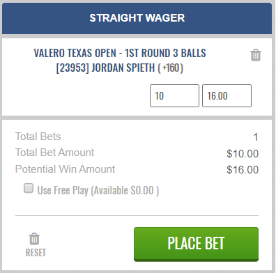 3-ball wager