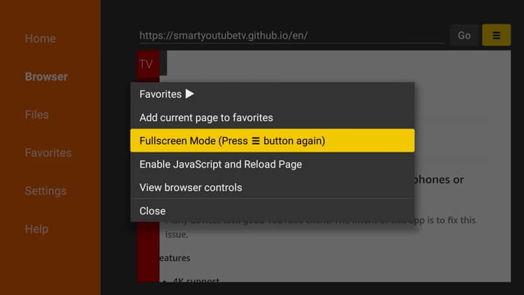 Youtube Tv Menu Shown – Grcija
