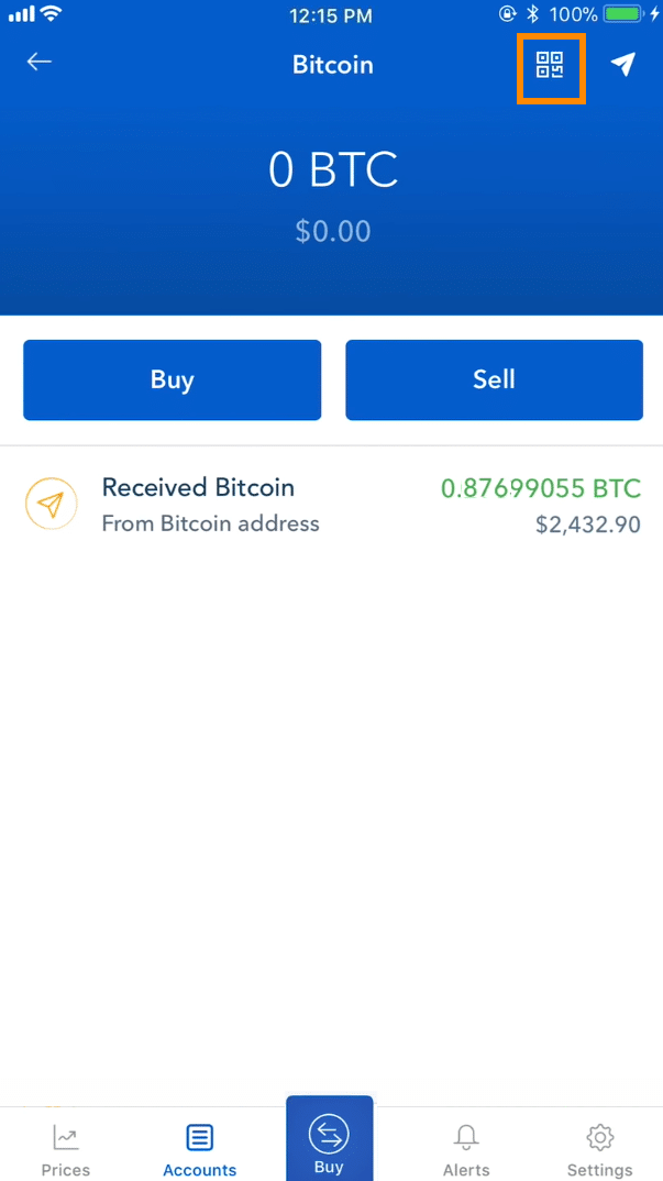 Step 3 - How to Receive Bitcoin on Coinbase