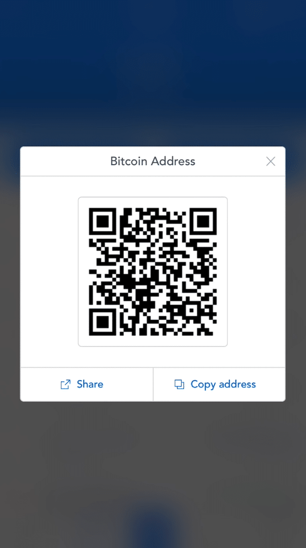 Step 4 - How to Receive Bitcoin on Coinbase