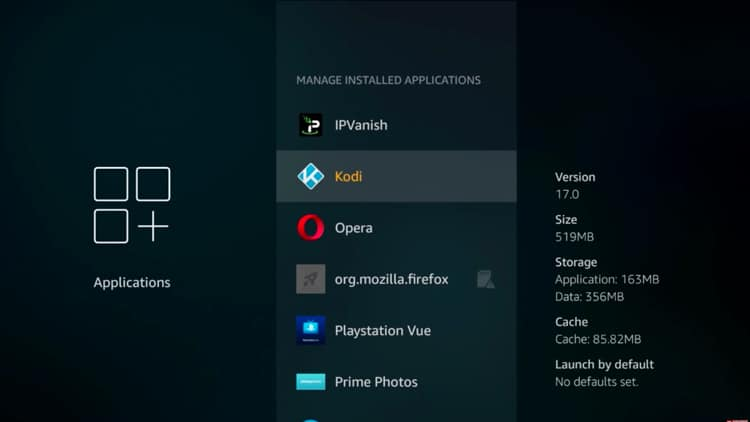 Step 6.1 - How To Reset or Restore Kodi On Fire TV Steps (New Fire TV User Interface Tutorial)