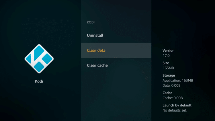 Step 8.2 - How To Reset or Restore Kodi On Fire TV Steps (New Fire TV User Interface Tutorial)