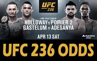 UFC 236 Odds