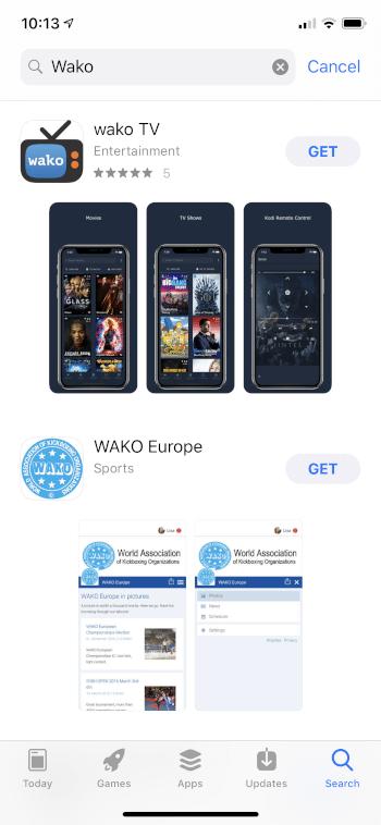 install wako