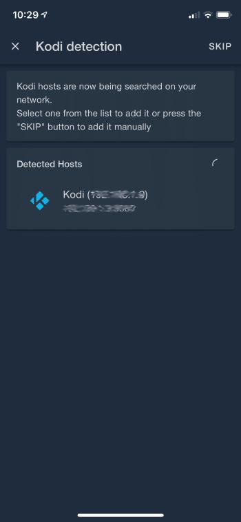 choose your kodi device