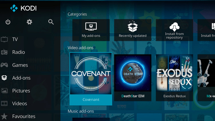 How To Install Covenant In Kodi With Bonus Video