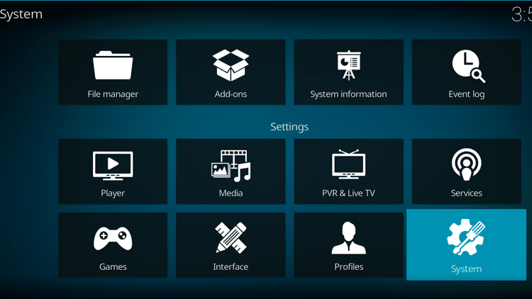 Step 2- How To Fix Kodi No Sound Error - Configure Kodi audio settings