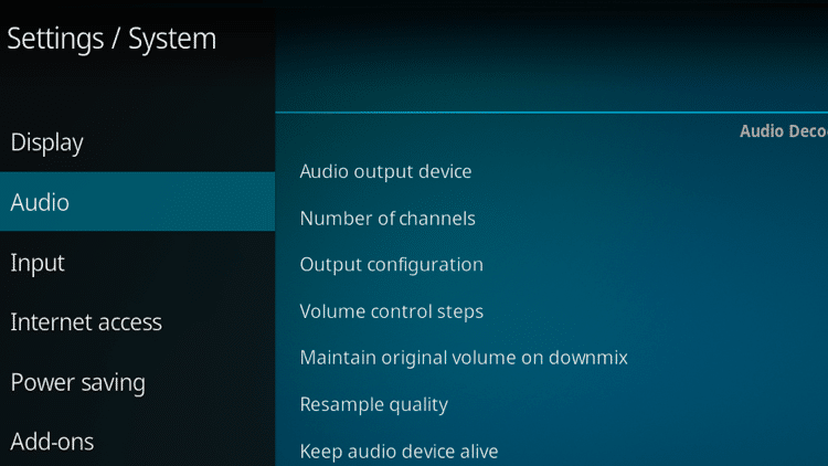 How To Fix Kodi No Sound Error in 2 Minutes or Less