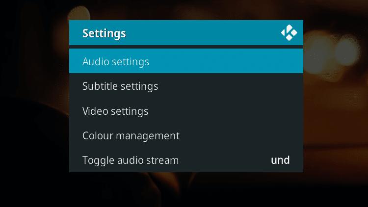Step 4 - How To Fix Kodi No Sound Error - Restart Kodi How To Fix Kodi No Sound Error - Check the volume on Kodi