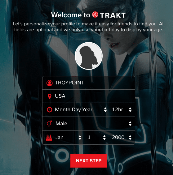 Step 6 - How to Sign Up for Trakt