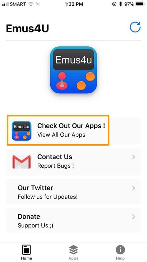 How To Install and Use Emus4U on iPhone or iPad