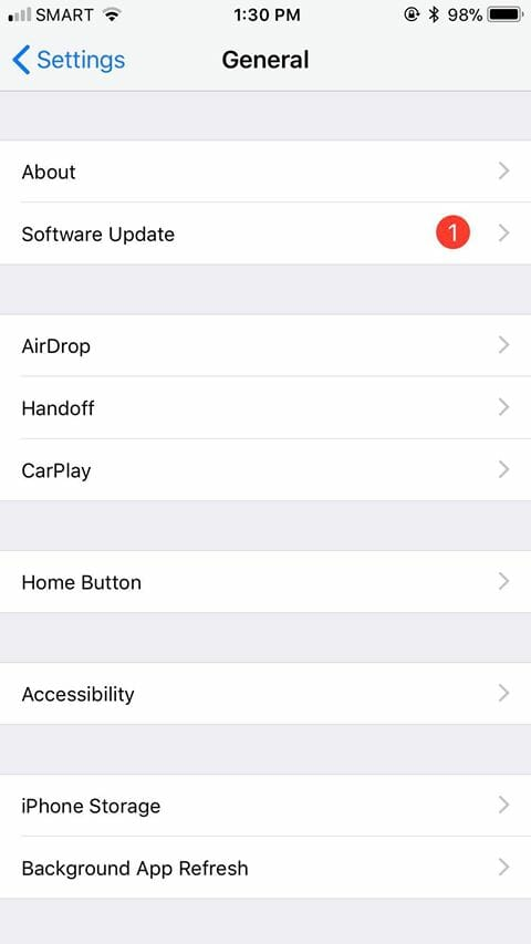 Step 3 - How to Check Available Storage Space on iOS v2