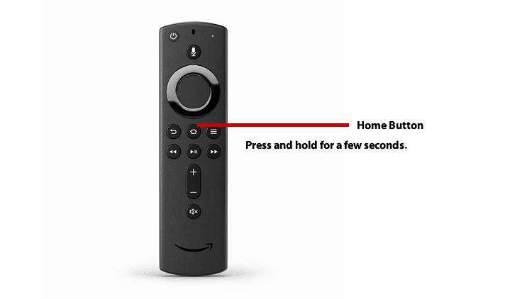 Home Button Firestick Remote