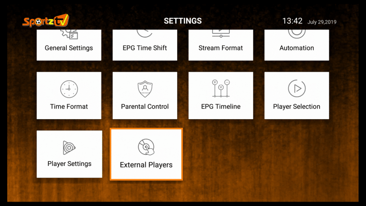 Click External Players