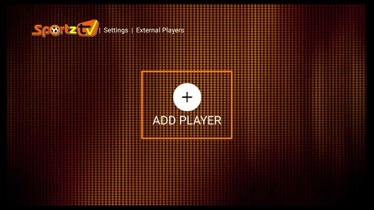 Click Add Player
