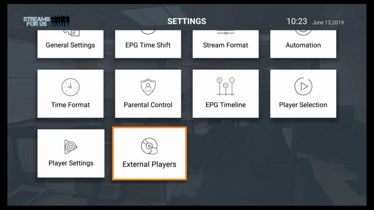 Click Player Setup