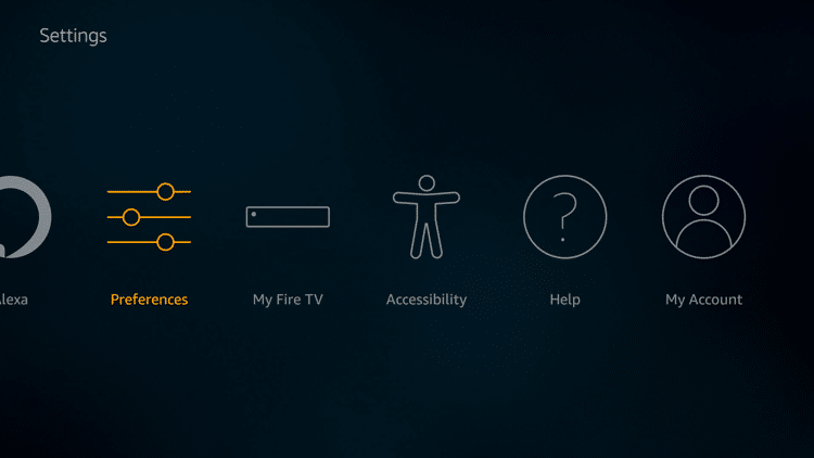 Step 2 - Firestick Fire TV Block app notifications