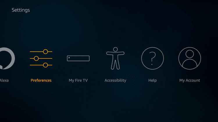 Step 2 - Firestick Fire TV Turn OFF AutoPlay Feature