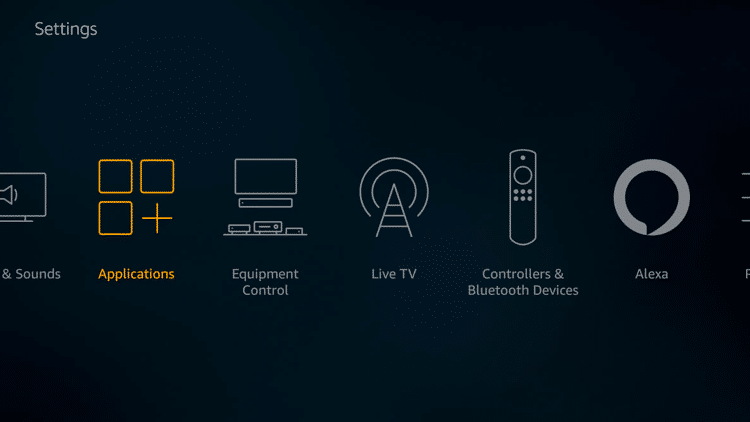 Step 2 - Firestick Fire TV Turn OFF unused Amazon services