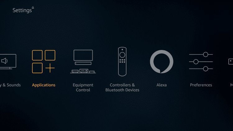 Step 2 - How to Check Available Storage on Amazon Firestick and Fire TV