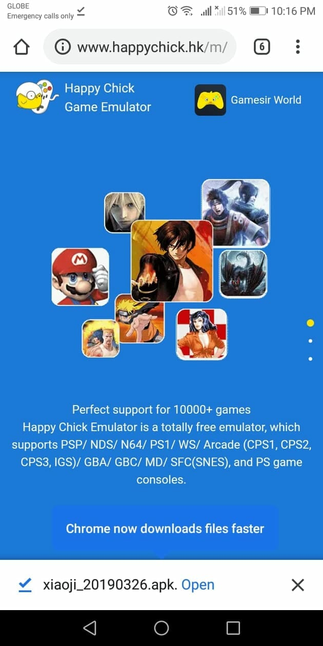 Step 4 - How To Install Happy Chick on Android Device
