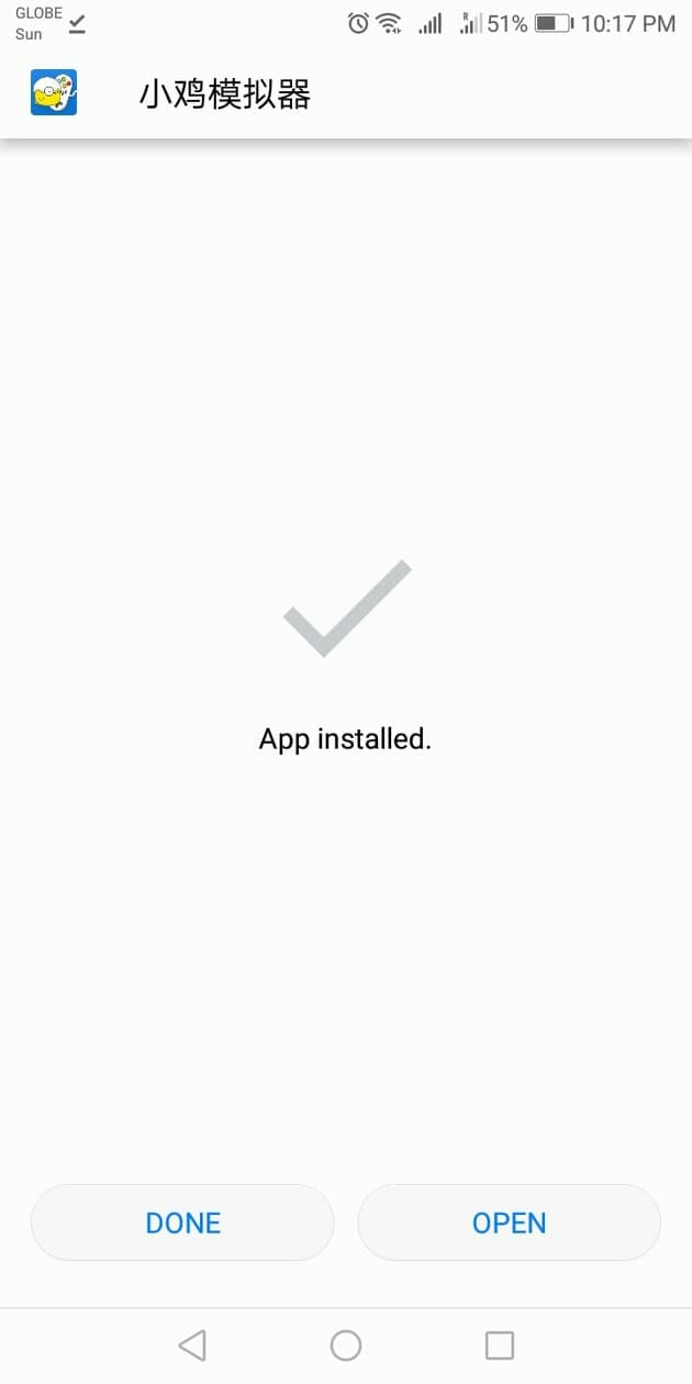 Step 7 - How To Install Happy Chick on Android Device