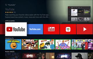 youtube app back in amazon app store
