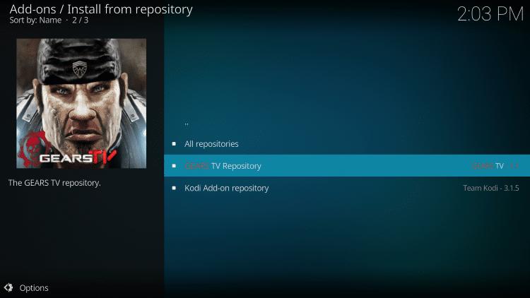 Click Gears TV Repository
