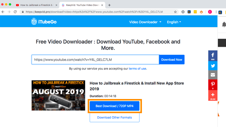 Step 5a - How to Download YouTube Videos on Your PC or Desktop
